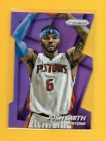 6542 	2014-15 Panini Prizm Prizms Purple Die Cut #26 Josh Smith #82/199