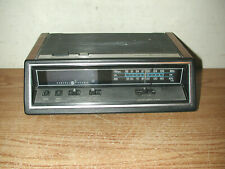 Vintage General Electric 7-4667A Am/Fm Digital Temperature Alarm Clock Radio