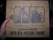 Harley Davidson 110th Anniversary  Picture frame