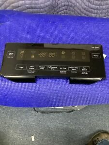 LG REFRIGERATOR DISPENSER CONTROL BOARD BLACK DISPLAY EBR733307 EBR73330701