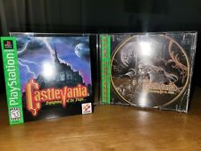 Castlevania Symphony Of The Night  CASE AND MANUAL ONLY