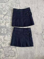 french toast girls Sz 5 uniform skirt skirt navy blue