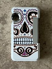 S.T. Dupont Hooked Jet Lighter with Ring, Sugar Skull, 032026 (32026) New In Box