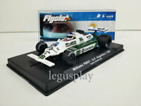 Slot car Scalextric Flyslot Ref. 055106B Williams FW07B #28 G.P. Argentina '80