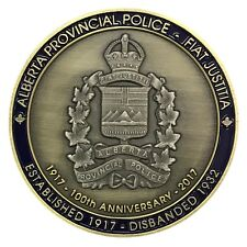 Alberta Provincial Police, 100 Anv. Coleman Detachment, Challenge Coin
