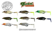 Teckel Sprinker Frog Paddle Prop Tail Buzz Topwater Hollow Body JDM - Pick