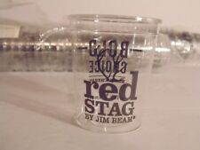 Jim Beam Red Stag Bold Choice Black Cherry Sampling Cups Shot Glasses Lot of 77