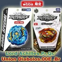 Takara Tomy Beyblade Burst・B-00・Union Diabolos + Lord Achilles Dual Boosters・New