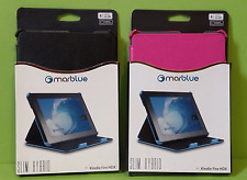 Lot of 2  Marblue Slim Hybrid Case for Kindle Fire HDX, Pink/Black   Free S/H