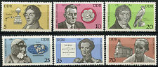 East Germany DDR 1980 SG#E2214-9 Celebrities MNH Set #A82217