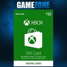 Xbox Live $10 USD USA Microsoft Gift Card Points For Xbox 360 / Xbox One Instant