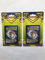 2020 Pokemon Sealed 15 Card  Pack Walgreens Exclusive sealed (2 PACK LOT)