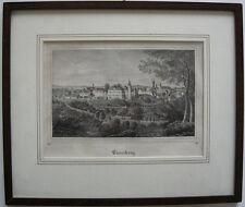 Eisenberg Thüringen Gesamtansicht Orig Lithografie Arlt 1837