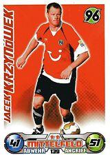 139 Jacek Krzynowek - Hannover 96 - TOPPS Match Attax 2009/2010