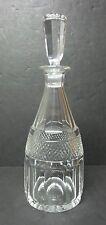 """Vintage ORREFORS Sweden Cut Crystal 11"""" Decanter"""