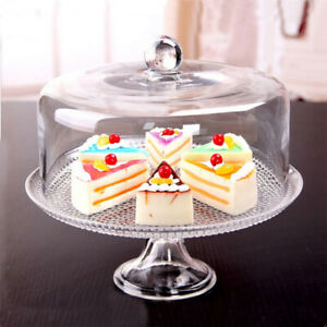 1:12 Cake Plate with Cover Creative Wedding Birthday Party Serving Trays