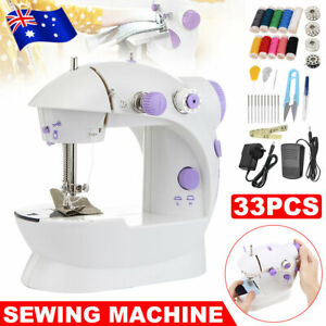 Mini Hand Held Sewing Machine Stitching Clothes Desktop Multi-Function DIY Tools