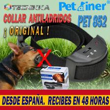 Collar Antiladridos Descarga Eléctrica Adiestramiento para Perros Deja de Ladrar
