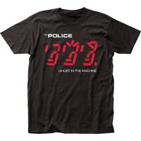 Authentic The Police Ghost in the Machine Album Record Covert Soft T-shirt top