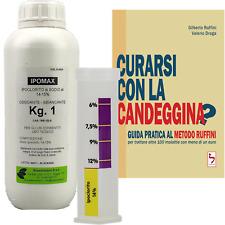 """KIT: IPOMAX + IPOCLORIMETRO + LIBRO """"CURARSI CON LA CANDEGGINA?"""""""