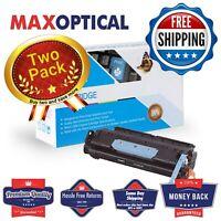 Max Optical 2Pack Canon C106/FX11 Compatible Black Toner Cartridge