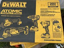 DEWALT DCK489D2 Atomic Compact Series 20V Lithium Ion brushless 4 tool combo kit
