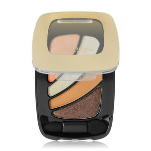 Loreal L'Oreal Colour Riche Eye Shadow EyeShadow New Essentials Quad NEW