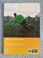 2002 - FA VASE FINAL PROGRAMME - TIPTREE UTD v WHITLEY BAY