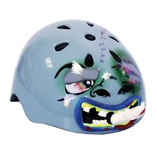 Kids Moulded 3D Helmutts Zombie Safety Helmet Bicycle Scooter Skating Head Gear