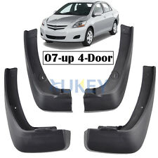 MUD FLAPS FIT FOR TOYOTA YARIS 4Dr SEDAN 2007~2013 SPLASH GUARDS VIOS BELTA LIMO