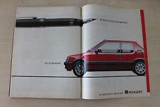 Peugeot 205 1.9 GTI + Montblanc - Anzeige/Werbung