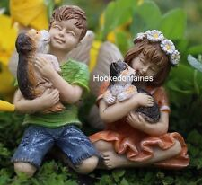 Miniature Dylan & Daisy Fairies WS 103 Fairy Garden Dollhouse