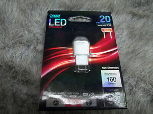 1 Feit Electric LED GY8.6 Base 20 Watt Bulb  Non-Dimmable