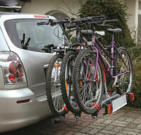 Super Deal Titan 3 Towbar Mounted Tilting 3 Bike Rack / 3 Cycle Carrier 4x4.