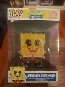"Funko Spongebob Squarepants - Large Spongebob 10"" Pop Vinyl Figure #562"