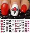 Atlanta Falcons Football Nail Art Decals - Nail Salon Quality