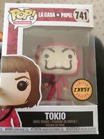 FUNKO POP! - TELEVISION -  MONEY HEIST - LA CASA DE PAPEL - TOKIO -CHASE EDITION