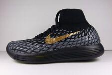Nike LunarEpic Shield Flyknit High Nike ID Size 6 Black H2O Repel Brand New
