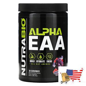 NutraBio Labs, Alpha EAA, Grape Berry Crush, .98 lb (444 g)