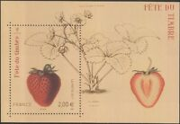 France 2011 Stamp Day/Strawberry/Art/Artists/Fruit/Plants/Nature 1v m/s (n45398)