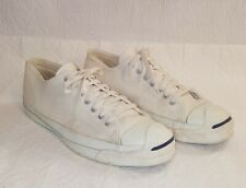 Vintage CONVERSE JACK PURCELL Canvas Sneakers Made in USA Sz 10 Mens