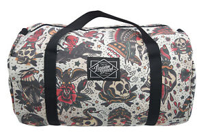 Liquorbrand Flash Americana Tattoo Oversized Duffle Bag