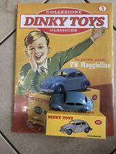 Dinky Toys Replica DeA 1:43 VW Volkswagen Beetle Maggiolino NUOVO CON FASCICOLO
