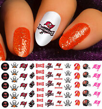 Tampa Bay Buccaneers Football Nail Art Decals - Salon Quality!