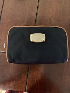 Michael Kors Black Makeup Cosmetic Toiletry Bag