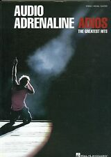 Audio Adrenaline Adios The Greatest Hits songbook sheet music christian