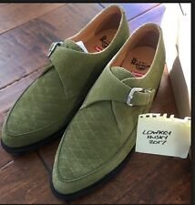 Supreme Box Logo Suede Leather Dr. Martens Rousden II Creeper Green Olive 12 A0