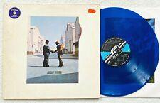 PINK FLOYD  Wish You Were Here LP ltd BLUE VINYL 1975 Roger Waters David Gilmour