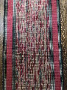 Vintage stair runner/ Carpet From 1920s