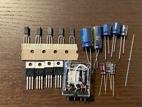 Marantz 2275 Power Supply Rebuild Recap Kit Capacitors Transistors Diodes Relay